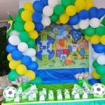 Tema: Copa do Mundo – Festa da Leitora Alessandra Michele Lopes!