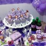 Tema: Princesa Sofia – Festa da Leitora Tainá Cordeiro!