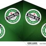 Cone 4 lados Dia dos Pais Heineken
