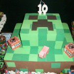 Tema: Minecraft – Festa da Leitora Juliana Viviani!