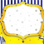 Bananas de Pijamas – Kit Completo Digital com molduras para convites, rótulos para guloseimas, lembrancinhas e imagens!