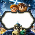 Lego Star Wars – Kit Completo Digital com molduras para convites, rótulos para guloseimas, lembrancinhas e imagens!