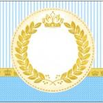 Coroa Príncipe – Kit Completo Digital com molduras para convites, rótulos para guloseimas, lembrancinhas e imagens!