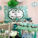 Tema: Azul Tiffany – Festa da Leitora Sandra Correa!