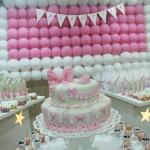 Tema: Ursinha Floral – Festa da Leitora Tamires Abreu!