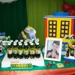 Tema: Tartarugas Ninjas – Festa da Leitora Cleriana P Silveira!