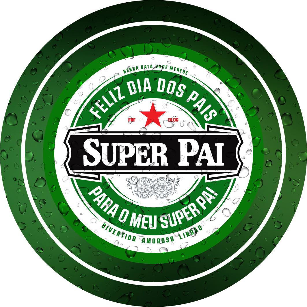 Marcador de Taças Dia dos Pais Heineken