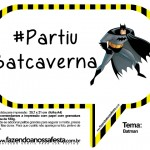Plaquinhas Divertidas do Batman!