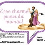 Plaquinhas Divertidas para Festa Rapunzel, Enrolados da Disney!