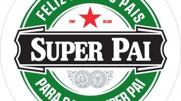 Rótulo Dia dos Pais Heineken - com nome