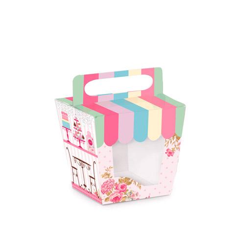 Caixinha para Mini Cupcake: