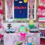 Tema: Peppa Pig – Festa da Leitora Priscilla Cabral!