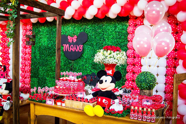 Decoração De Festa Da Minnie Faias Pictures to pin on Pinterest
