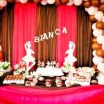 Tema: Bailarina – Festa da Leitora Klaudynha Vasconcellos!