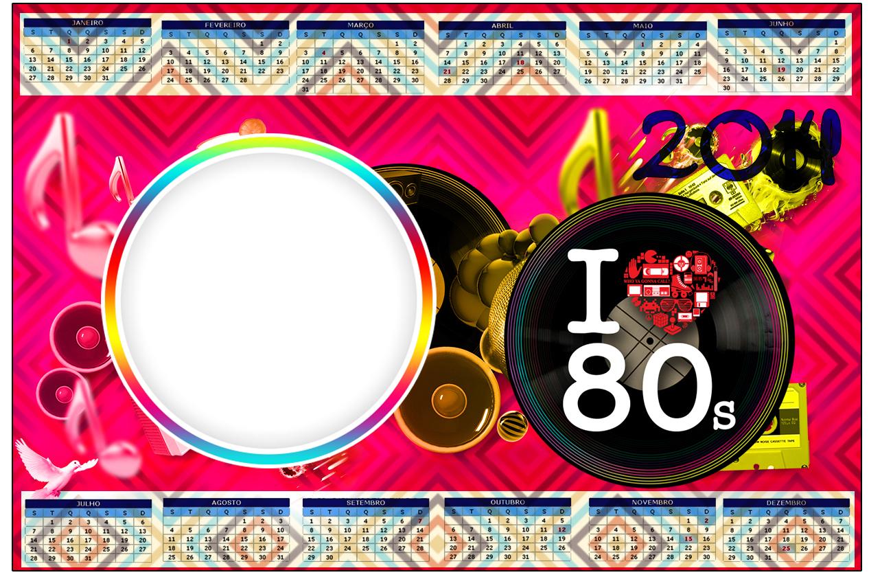 Fnf anos 80 2 193 fazendo a nossa festa - Decoracion fiesta 80 anos ...