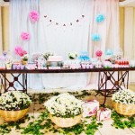 Tema: Floral Vintage – Festa da Leitora Janaína Lopes Jesus!