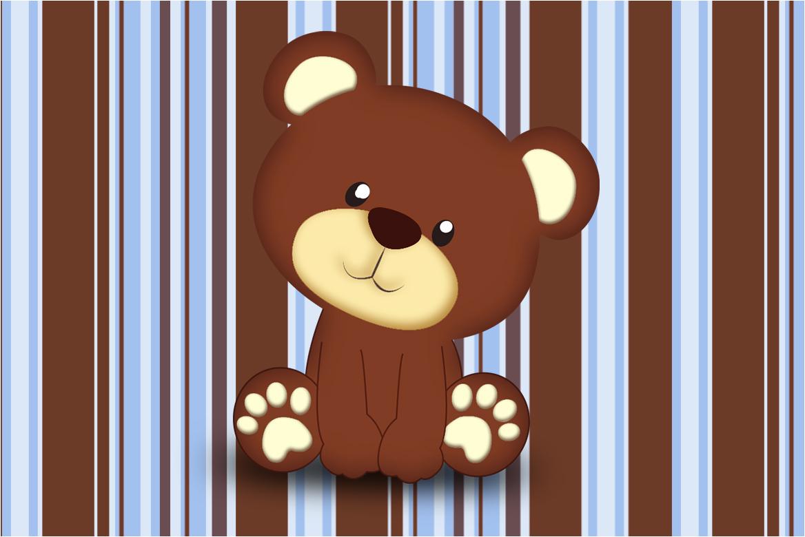 urso marrom fundo marrom 2 08 fazendo a nossa festa