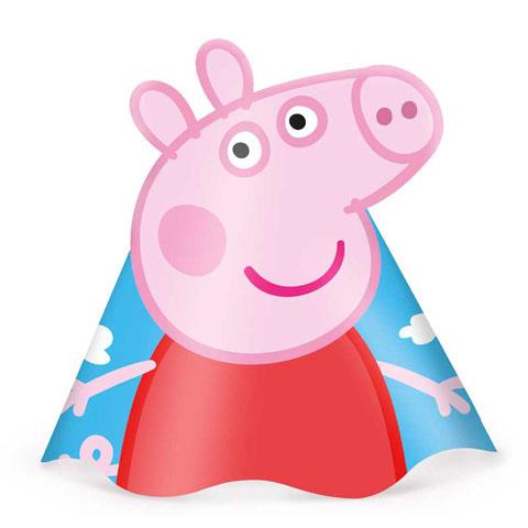 Chapéu Peppa Pig: