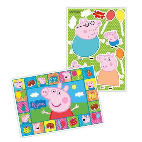 Painel decoração Peppa Pig: