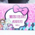 Tema: Monster High e 75 anos – Festa da Leitora Priscila Fischernes!