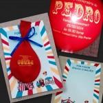 Ideia criativa: Convite com balão!