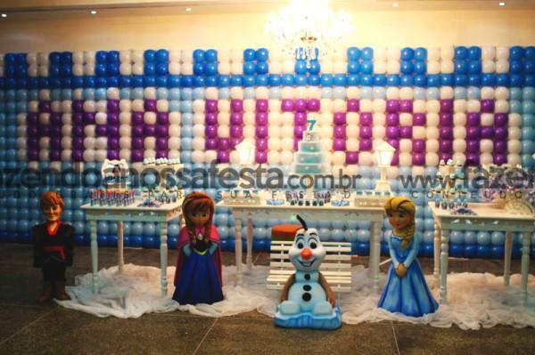Decoração Festa Frozen: