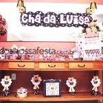 Tema: Ursinha Marrom e Rosa – Festa da Leitora Mare Rosa!