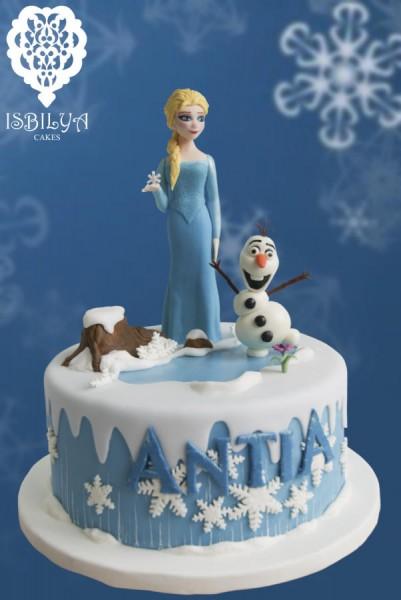 Bolos Frozen: