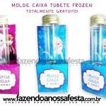 Porta Tubetes Frozen!