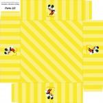 Caixa de Bombom Mickey Mouse 1 - Parte de baixo