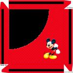 Caixa de Bombom Mickey Mouse 1 - Parte de cima