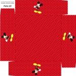 Caixa de Bombom Mickey Mouse - Parte de baixo 2