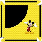 Caixa de Bombom Mickey -Parte de cima 2