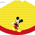 Chápeu de festa Mickey