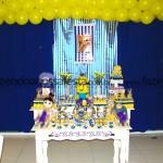 Tema: Minions – Festa da Leitora Marcia Maristela Bandeira!