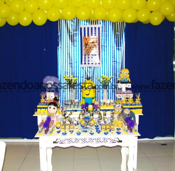 Decoração Festa Minions: