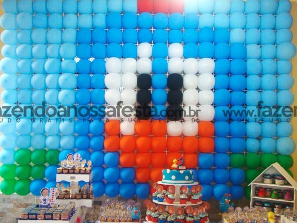 Painel de Balão da Galinha Pintadinha:
