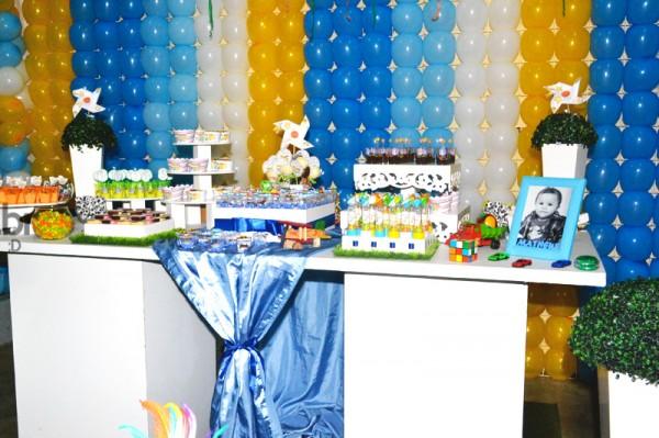 Decoração Brinquedos de Meninos: