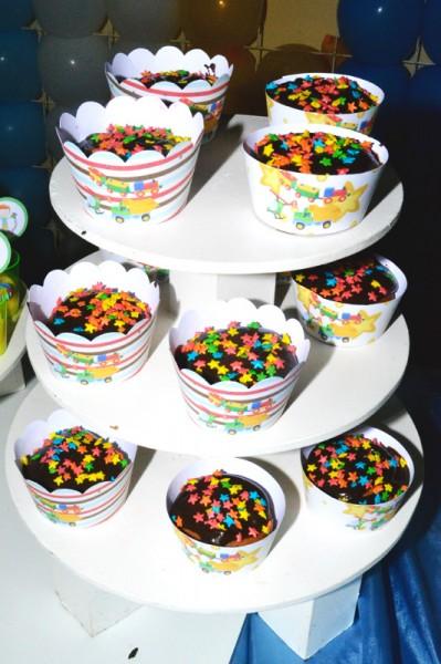 Cupcakes Brinquedos de Meninos:
