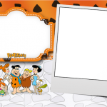 Os Flintstones – Kit Completo com molduras para convites, rótulos para guloseimas, lembrancinhas e imagens!