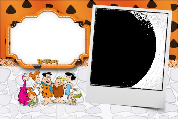 Convite Digital Os Flintstones: