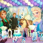 Tema: Frozen – Festa da Leitora  Julyana Caldas!