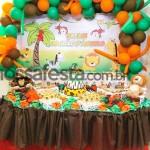 Tema: Safari Menino – Festa da Leitora Marcia Angélica!
