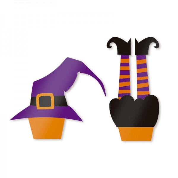 Enfeite para Cupcake Halloween: