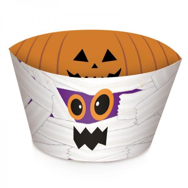 Saias Wrappers para Cupcakes Walloween: