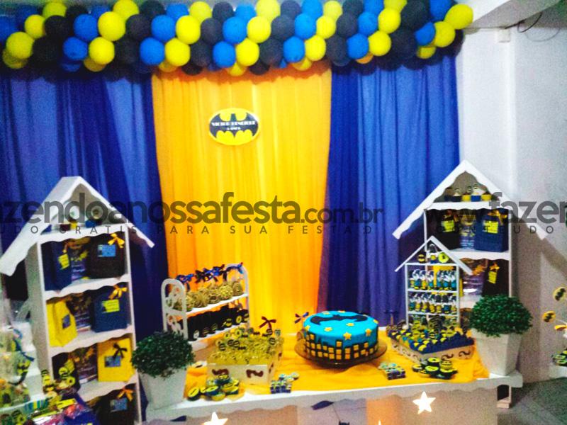 decoracao festa batman:festa menino batman – Fazendo a Nossa Festa