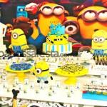 Tema: Minions – Festa da Leitora Aline Ferreira!