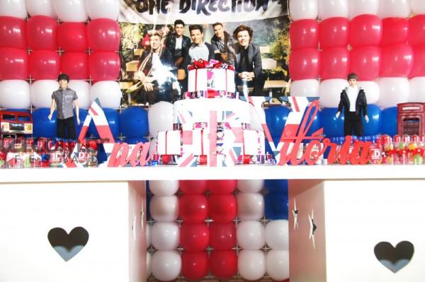 Mesa de Doces One Direction: