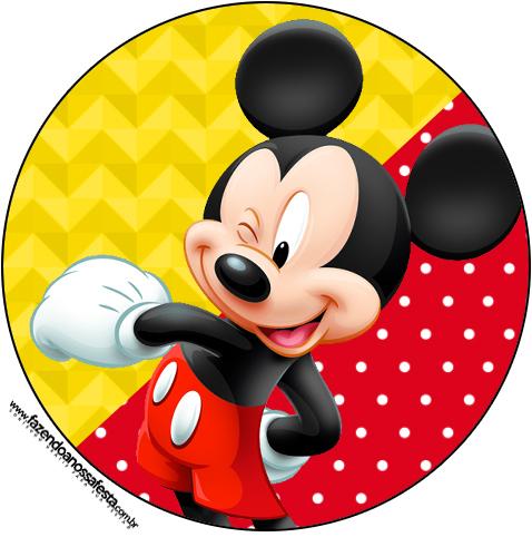 Mickey Bolinhas Brancas 207 Fazendo A Nossa Festa