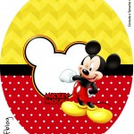 Molde Tubete Oval Mickey